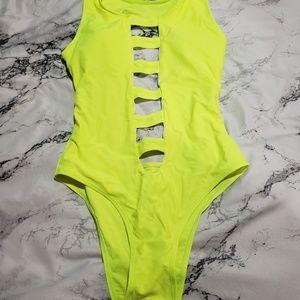 Neon Monokini